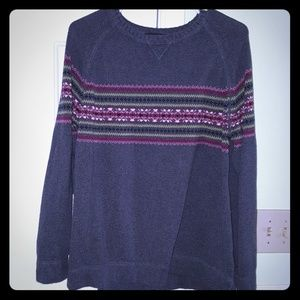 Gray Eddie Bauer sweater Sz XL